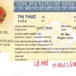 Bảng giá dịch vụ Visa cho người Nước ngoài tại Việt Nam