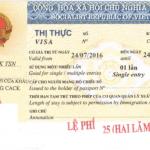 Thủ tục xin visa 1 năm cho người Nhật Bản sang Việt Nam làm việc