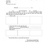Mẫu NA16 Thông tưsố 04/2015/TT-BCA  giới thiệu chữ ký mẫu dấu