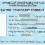 Thủ tục làm thẻ tạm trú cho vợ, chồng là người nước ngoài