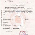 Người nước ngoài ở Việt Nam bao lâu mới được xin lý lịch tư pháp?