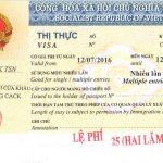 Xin cấp mới visa thị thực Việt Nam cho người Nhật Bản sang làm việc