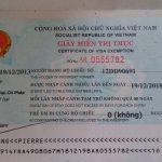 Hướng dẫn xin giấy miễn thị thực 5 năm cho người nước ngoài kết hôn với người Việt Nam