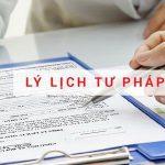 Thủ tục xin lý lịch tư pháp cho người nước ngoài tại Việt Nam