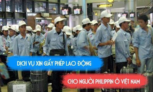 giấy phép lao động cho người philippin