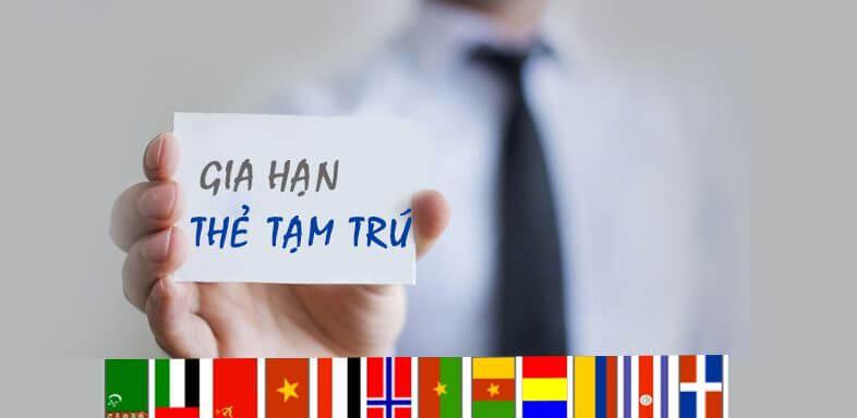 Gia hạn thẻ tạm trú cho người Canada tại Việt Nam