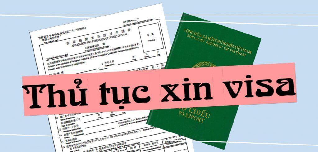 Thủ tục xin cấp visa 3 tháng một lần