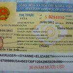 Visa 3 tháng nhiều lần cho người nước ngoài