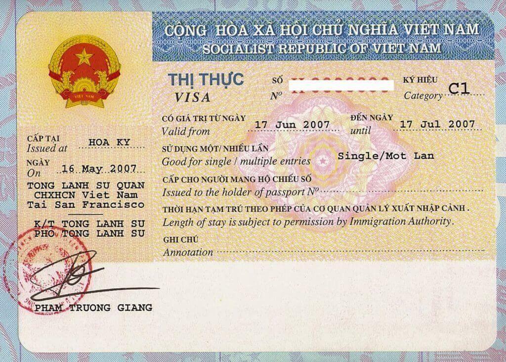 Visa 3 tháng một lần