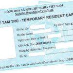 Hồ sơ xin cấp thẻ tạm trú cho người Lào