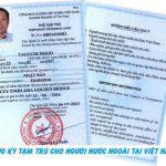 Hồ sơ xin cấp thẻ tạm trú cho người Nhật Bản