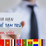 Thủ tục gia hạn thẻ tạm trú cho người Hàn Quốc tại Việt Nam
