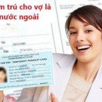 Hướng dẫn làm thẻ tạm trú cho vợ là người nước ngoài