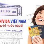 Mẫu gia hạn visa cho người nước ngoài