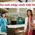 Thủ tục xin thư mời nhập cảnh Việt Nam
