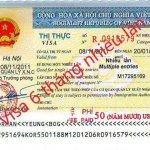 Xin Visa 6 tháng nhiều lần cho người người nước ngoài
