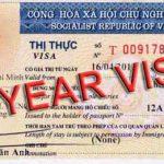 Xin Visa 1 năm 1 lần cho người nước ngoài nhập cảnh