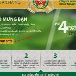 4 bước cơ bản đăng ký hộ chiếu online thành công