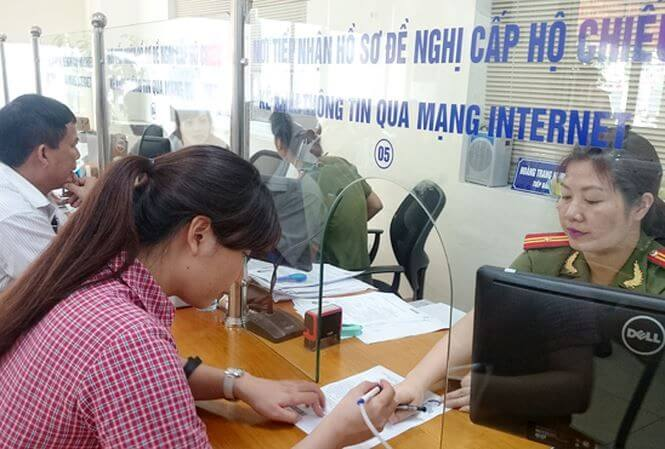 Địa điểm làm hộ chiếu ở Hà Nội