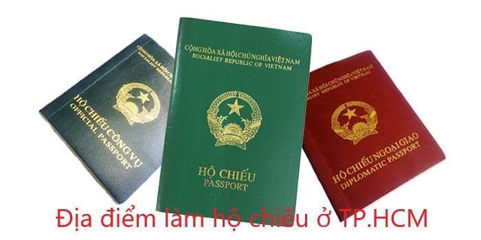 Địa điểm làm hộ chiếu ở TP.HCM