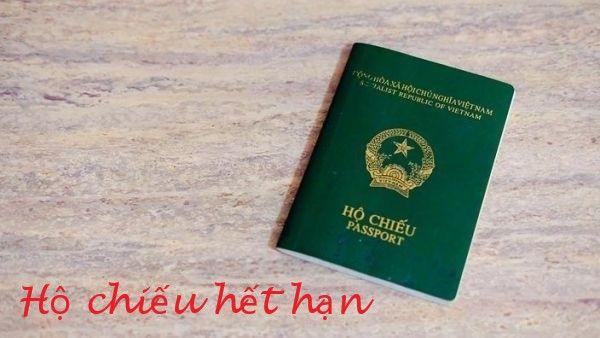 Đổi hộ chiếu hết hạn