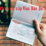 Kinh nghiệm xin visa Hàn Quốc năm 2019