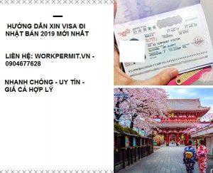 Hướng dẫn xin visa đi Nhật Bản 2019