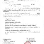 Công văn nhập cảnh lấy visa du lịch cho người Nước ngoài vào Việt nam