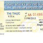 Thủ tục xin cấp visa thị thực du lịch cho người nước ngoài sang Việt Nam