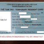 Các trường hợp được cấp thẻ tạm trú theo quy định mới nhất
